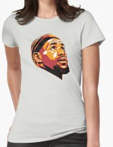 L.J face Womens Fitted T-Shirt