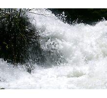 Raging water Photographic Print