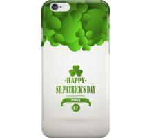 Saint Patrick's Day Background iPhone Case/Skin