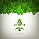 Saint Patrick's Day Background by Olga Altunina