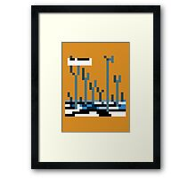 Muse - Origin of Symmetry Framed Print