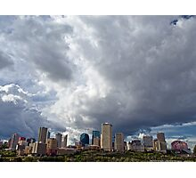 Capital City Storm Photographic Print