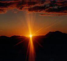 Last Rays of Light by Karen  Rubeiz
