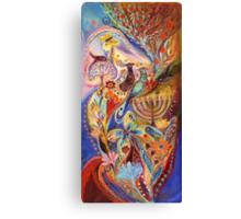 Hanukkah in Magic Garden Canvas Print