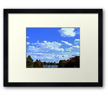 SKY, LAND, AND SEA Framed Print