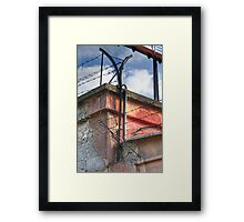 Enhanced Security Framed Print