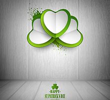 Saint Patrick's Day Background by Olga Altunina