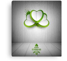 Saint Patrick's Day Background Canvas Print