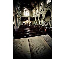 Son Of A Preacher Man Photographic Print