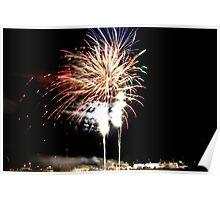 Fireworks Geelong Show 2008 II Poster