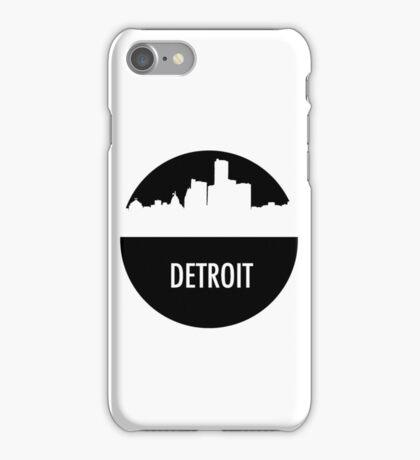 Detroit Skyline Shadow iPhone Case/Skin