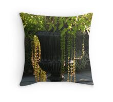 Sunlit Urn Throw Pillow