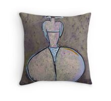 The Bikini Throw Pillow