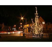 The Christmas Tree at Batford Photographic Print