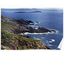 Atlantic Coast Ireland Poster