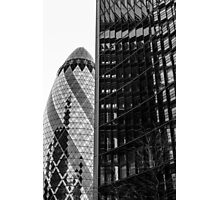 Gherkin Architecture Photographic Print