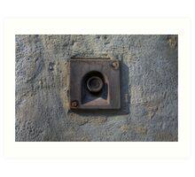 Forgotten Doorbell Art Print