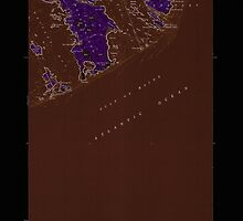 Maine USGS Historical Map Great Wass Island 105171 1950 24000 Inversion by wetdryvac