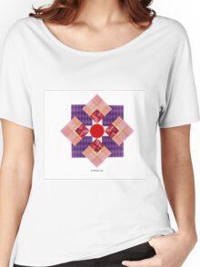 SCRAPBOOK PAPER FIGURE Women's Relaxed Fit T-Shirt