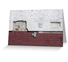 Margit Street 27 Greeting Card