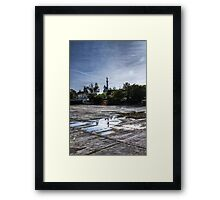 Near the City Centre Framed Print
