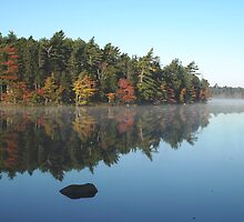 Boarsback Lake - Fall by Gerry Curry