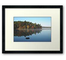 Boarsback Lake - Fall Framed Print