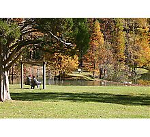 Autumn Relaxation Photographic Print