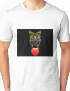 Hoo Loves Ya, Baby?  Hearty Owl Unisex T-Shirt