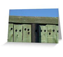 Westport Dock Greeting Card