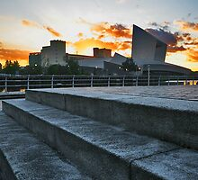 SALFORD QUAYS IMPERIAL WAR MUSEUM by MIKESCOTT