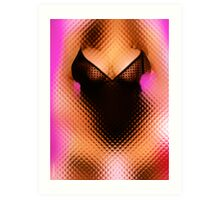 Abscure Breasts Art Print