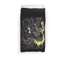 A Deluge of Plague and Stardust Duvet Cover