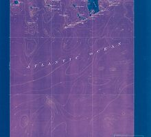 Maine USGS Historical Map Great Wass Island 807522 1921 62500 Inversion by wetdryvac