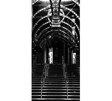 Industrial Stairs Photographic Print