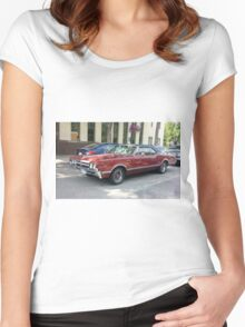 1966 Oldsmobile Cutlass Women's Fitted Scoop T-Shirt