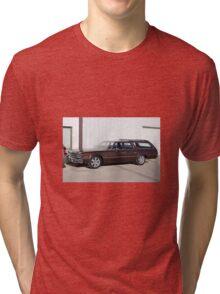 1974 Plymouth Gran Fury Tri-blend T-Shirt