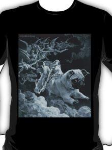 Death Rides a Pale Pug T-Shirt