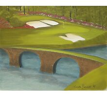 "Augusta ""The 12th Hole"" Photographic Print"