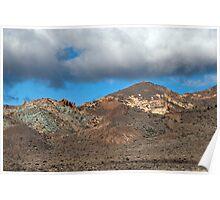 El Teide: Los Azulejos Poster