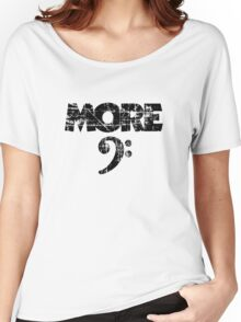 More Bass Vintage Black Women's Relaxed Fit T-Shirt