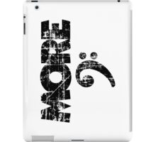 More Bass Vintage Black iPad Case/Skin