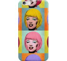 Bob Marilyn Monroe set of 4 iPhone Case/Skin