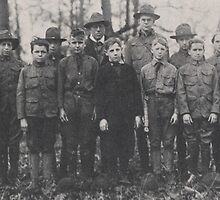 Boy Scouts, Troop 10, 1918 by Adam Asar