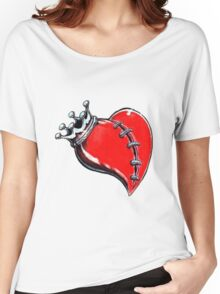 King of Hearts Women's Relaxed Fit T-Shirt