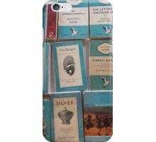 Books - blue iPhone Case/Skin