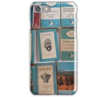 Books - blue iPhone Case/Skin