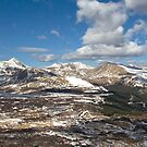 View from te Mt Bierstadt,Colorado by MarcVDS