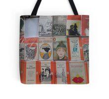 Books - orange Tote Bag