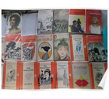 Books - orange Poster